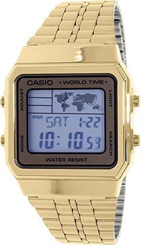 casio gold watch digital - 3