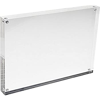 Amazon.com - Cq acrylic 8x10 Acrylic Frame, Magnetic Picture Frames ...
