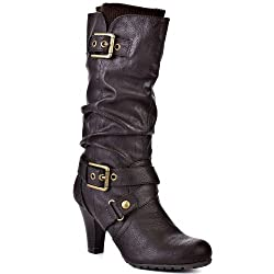 G By Guess Trinnie Womens Size 10 Brown Fashion Mid-Calf Boots New/Display