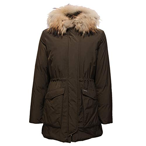6196x Jacket Bimba Fur Parka Woolrich Piumino Brown Marrone Inside Girl wqvBWd7
