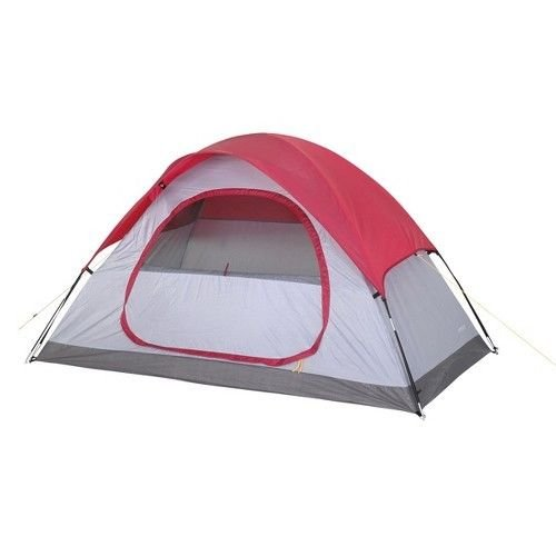 Embark Red 2 Person Dome Tent – 4'6″X7'6″X48″