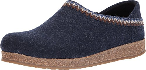 Haflinger Unisex Zigzag Captains Blue 41 M EU by Haflinger