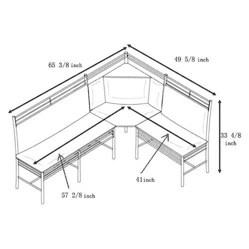 Corner Nook Dining Set Sensational Breakfast Nooks To Brunch - Breakfast nook dimensions