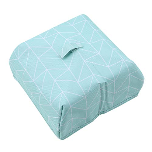 EH-LIFE Food Cover Keep Warm Foldable Aluminum Foil Vegetable Cover Dishes Kitchen Dust-proof Insulation Cover Small Blue Rectangle 1# by EH-LIFE (Image #1)