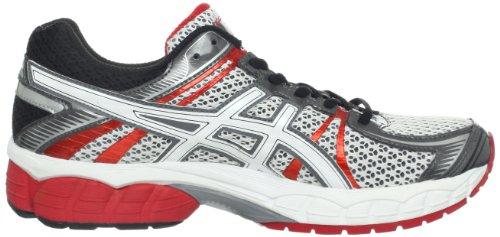 ASICS Mens GEL-Flux Running Shoe Snow/White/Red Pepper Xitev3Qh