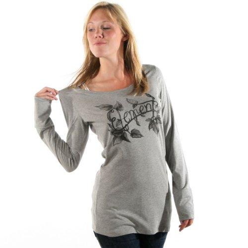 Element T Shirt Girls Vine Grey Heather