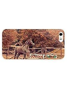 3d Full Wrap Case for iPhone 5/5s Animal Colt Kimberly Kurzendoerfer