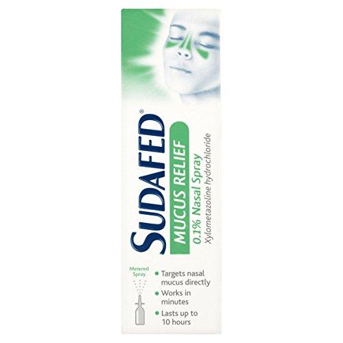 Sudafed Mucus Relief 0.1% Nasal Spray 15ml