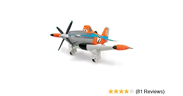 Disney Planes Dusty Fire and Rescue Radio Remote Control Plane IR RC Ages 4 Toy