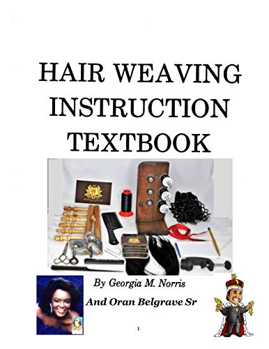 HAIR WEAVING INSTRUCTION TEXTBOOK: POLE WEAVING AND WEAVING MACHINE