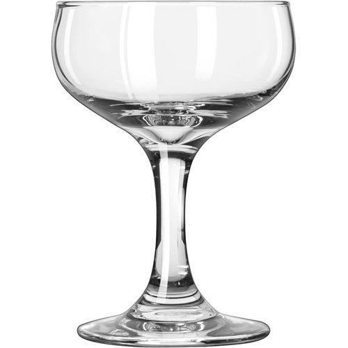 Libbey Glassware 3773 Embassy Champagne Glass, 5 oz.-12 oz. (Pack of (Embassy Glasses)