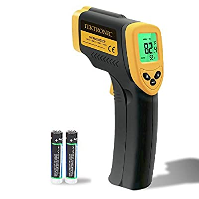 Tektronic IT380 Infrared Non-Contact Thermometer, -50°C~380°C (-58°F~716°F) Built-in Laser Battery Powered - CE & RoHs Approved