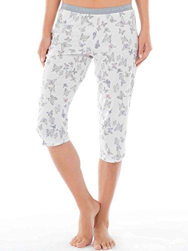 Calida - Bas de pyjama - Femme blanc Star White Small