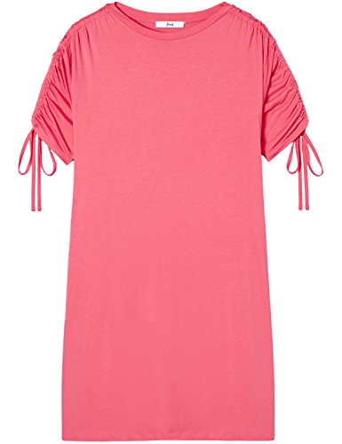 Sleeve Rosa Robe Swing Tie Femme FIND Oversize Oversize Rose tTSwOzaxq