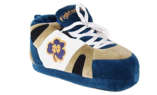 - NTD01-4 - Notre Dame Fighting Irish - X Large - Happy Feet Men's and Womens NCAA Slippers