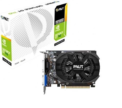 Palit NE5X75001341F GeForce GTX 750 StormX Grafikkarte (PCI-e, 2GB GDDR5, mHDMI, Dual-link DVI-D, CRT, 2x GPU)