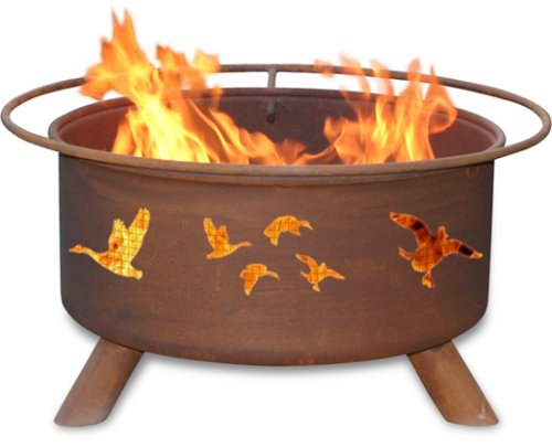 Patina Products F114,  30 Inch Wild Ducks Fire Pit