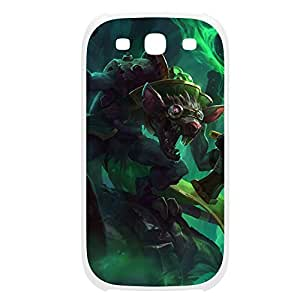 Twitch-001 League of Legends LoL case cover Samsung Galasy S3 I9300 Plastic White