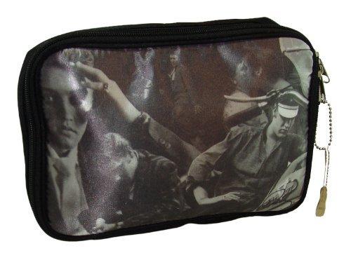 ELVIS Presley Black & White Collage Cosmetics Bag