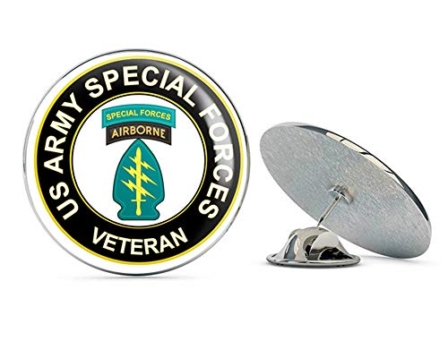 Lapel Special Forces Pin - U.S. Army Veteran Special Forces Airborne Metal 0.75
