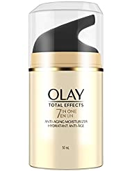 Olay Face Moisturizer, Total Effects 7-in-1 Anti-Aging, 1.7 fl oz