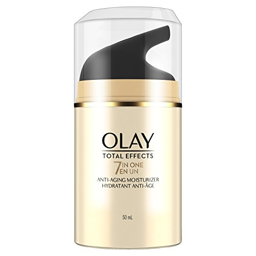 Face Moisturizer by Olay Face Moisturizer, Total Effects 7-in-1 Anti-Aging, 1.7 fl oz