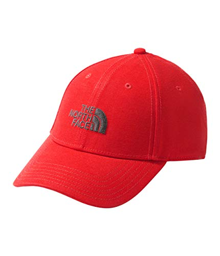 The North Face Unisex 66 Classic Hat Juicy Red/Asphalt Grey One Size