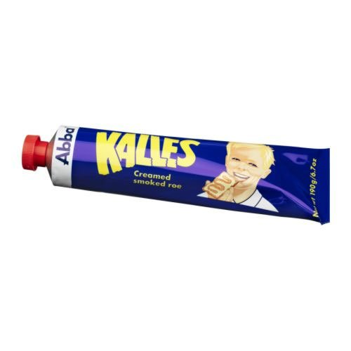 Kalles Creamed Smoked Cod Roe Spread by Abba (6.7 ounce)