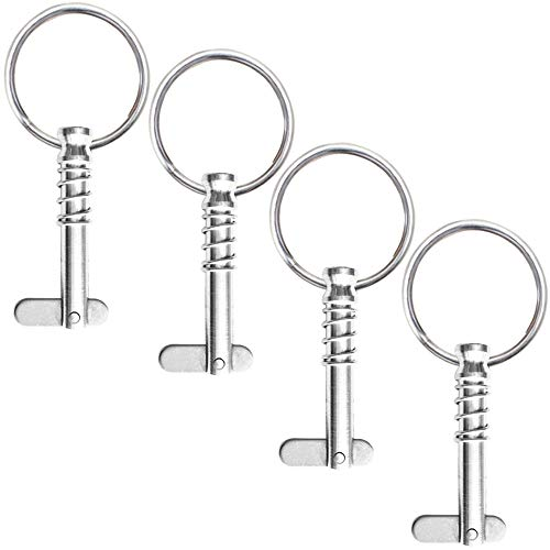 - VTurboWay 4 Pack Quick Release Pin 1/4