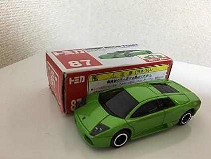 Amazon Com Japan Import Tomica 87 Lamborghini Murcielago Limited