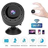 Spy Camera WiFi Mini Hidden Camera 1080P HD Portable Home Security Night Vision