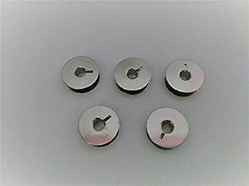 5 canillas metálicas para Refrey