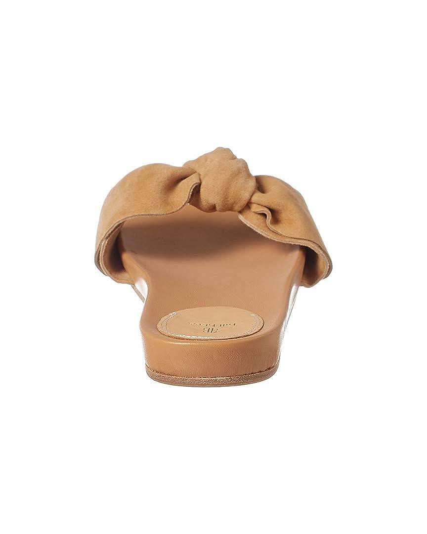 Bill Blass Carmen Suede Slide Sandal 8.5 Brown