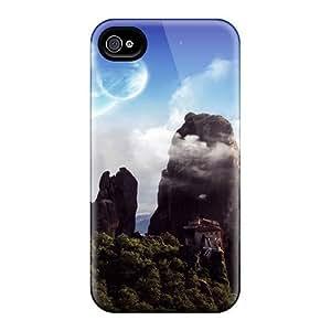 New FGq3100VqfG Beautyful Landscape Skin Case Cover Shatterproof Case For Iphone 4/4s
