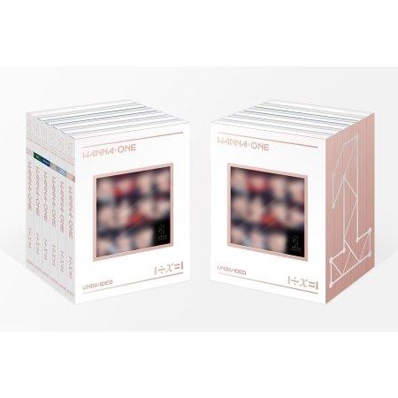 WANNA ONE UNDIVIDED 1÷Χ=1 Special Album 6 Ver Set CD+PhotoBook+Magnet+PhotoCard+Lyrics+GoldenTicket+Tracking Number K-POP