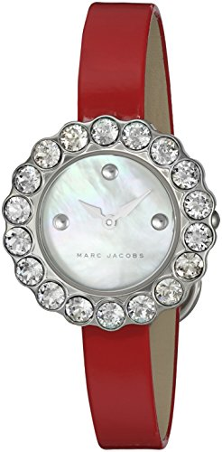 Marc Jacobs Women's Tootsie Red Leather Watch - MJ1441