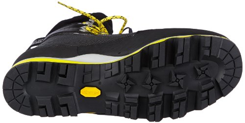 Salewa PRO VERTICAL (M) - Zapatos de senderismo de cuero unisex negro - Schwarz (black/yellow 0903)