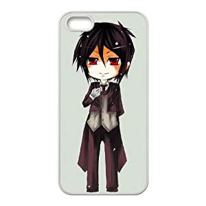 Black Butler iPhone5s Cell Phone Case White VC16G040