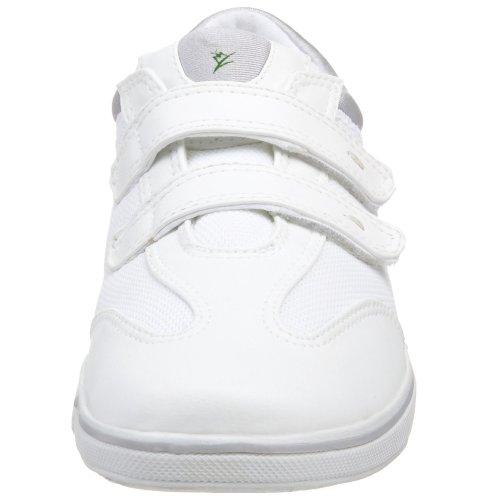 Grasshoppers Frauen Stretch Plus Klett-Sneaker Weiß