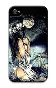 Iphone 4 4s 3D PC Hard Shell Case Angel by Sallylotus