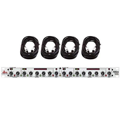 DBX 166XS 166 XS Dual Compressor Limiter Gate w/ - Ess Studio