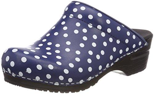Sanita blue Fenja Donna Open Blau Zoccoli 6y6qTrSwO