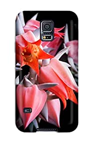 For ZippyDoritEduard Galaxy Protective Case, High Quality For Galaxy S5 Flower Skin Case Cover