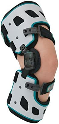 Orthomen OA Unloader Knee Brace - Medial/Inside Support for Arthritis Pain, Osteoarthritis, Cartilage Defect Repair, Avascular Necrosis, Knee Joint Pain and Degeneration (Left)