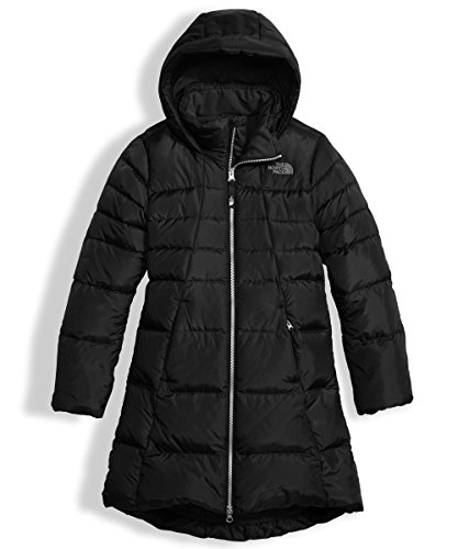 The North Face Big Girls' Elisa Down Parka (Sizes 7-18) - Black, xl/18 by The North Face