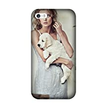 Iphone 5C Case, [Drop Protection] Scratch Resistant Perfect-Fit Shock Absorbing Non-Slip girl clothes dogs puppies Armor Case Design By [Alex Alina]