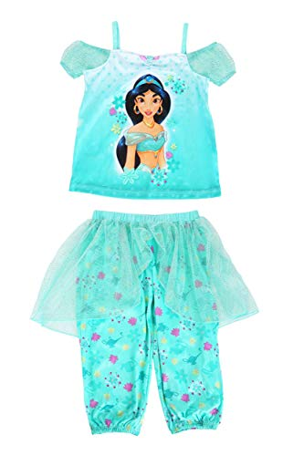 Girl's Jasmine Fantasy Sleep Set Size 6 Blue]()