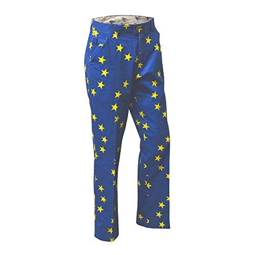 Royal & Awesome Men's Golf Pants, Eurostar, 32W x 30L