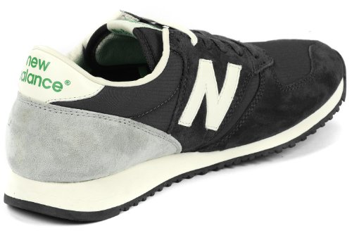 New Balance U420 - Zapatos de primeros pasos Hombre Schwarz/Grau