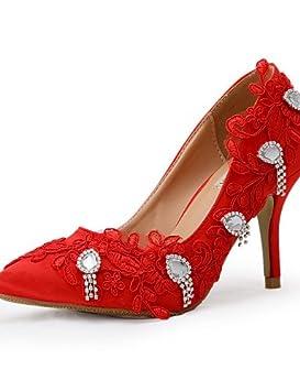 ZQ Zapatos de boda-Tacones-Tacones-Boda / Vestido / Fiesta y Noche
